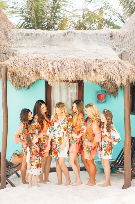 Gift Ideas For Bridesmaids Destination Wedding : Robes-for-Bridal-Party-Brittrene-Photo.jpg