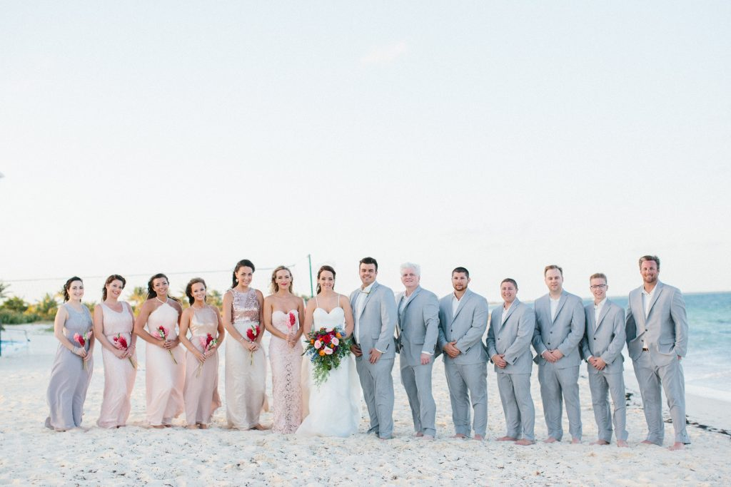 This gorgeous, tropical-themed destination wedding in Cancun, Mexico is definitely a trend-setter for 2017. Discover the full story by Wedding Concierge Ashley herself for a true first-hand experience!