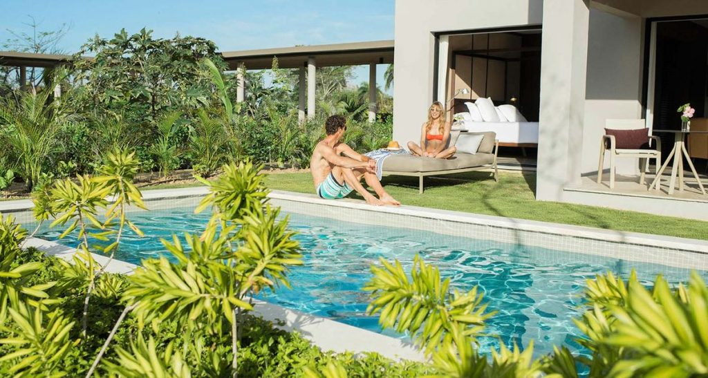 Excellence Club Swim Out at Excellence El Carmen in Punta Cana