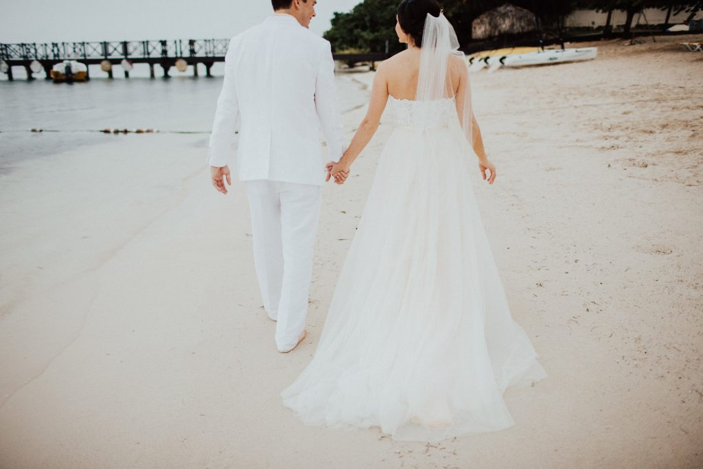 Jamaica Destination Beach Wedding IBEROSTAR