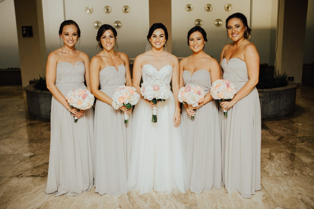 Jamaica Destination Wedding Bridal Party
