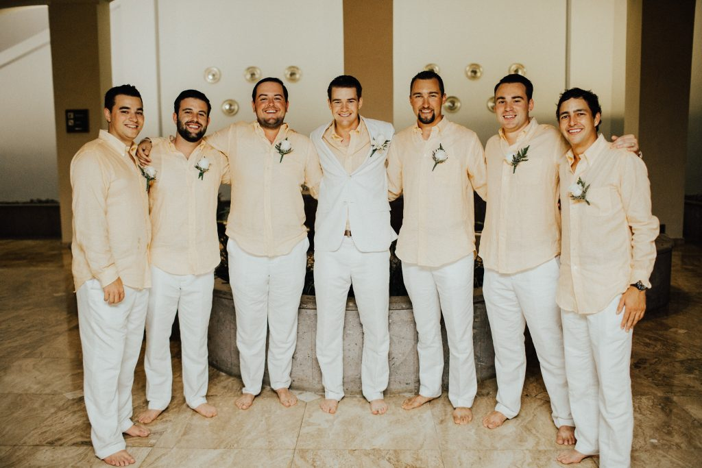 Jamaica Destination Wedding Groomsmen
