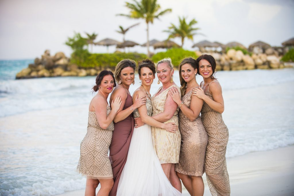 Jamaica Destination Wedding Bridesmaid Photography