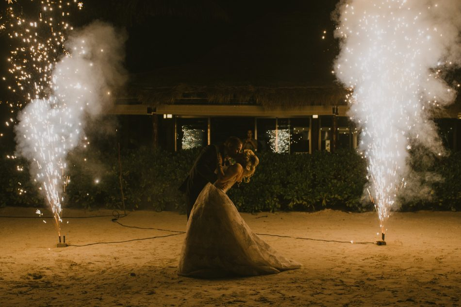 Sparks fly for a Funjet bride! #WeddingsbyFunjet