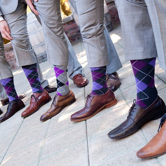 Give your guys something to talk about while having peace of mind they are wearing the right type of footwear for your big day. #WeddingIdeas