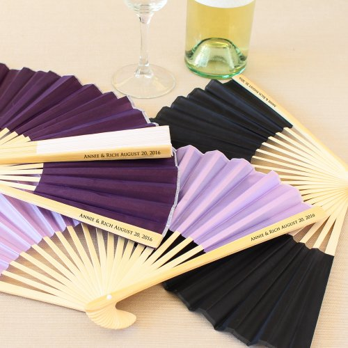 Planning a wedding in the Caribbean or Mexico? You'll need silk fans for your guests at the ceremony. #WeddingsbyFunjet #ConciergeTip