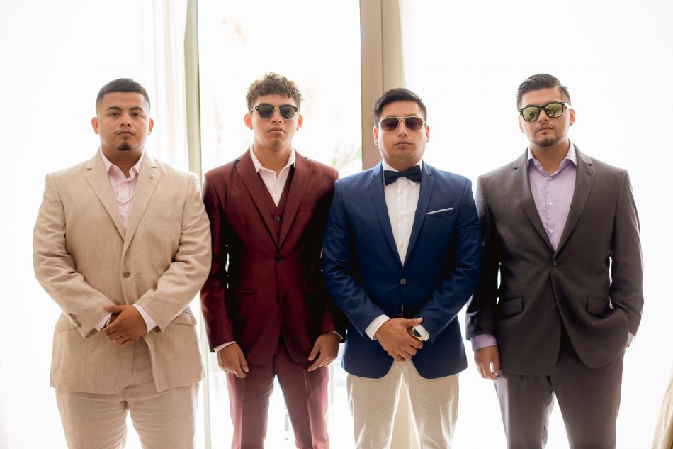 Groom & Groomsmen Fashion Trends for Destination Weddings