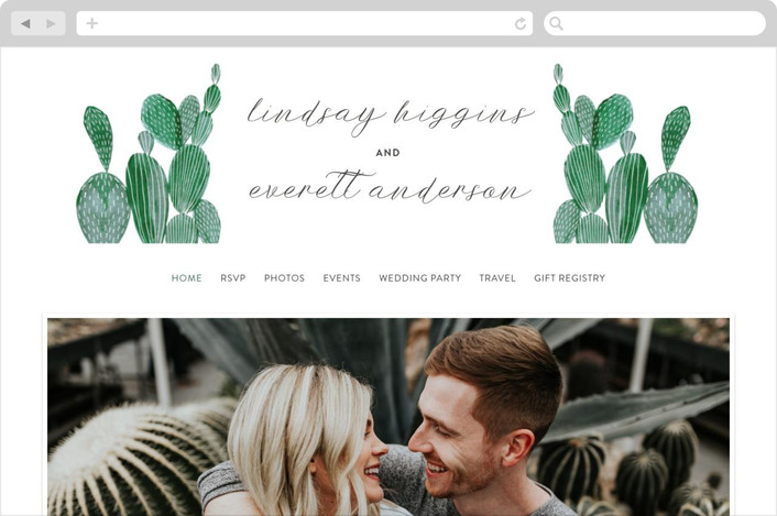 how to create a wedding website invitation