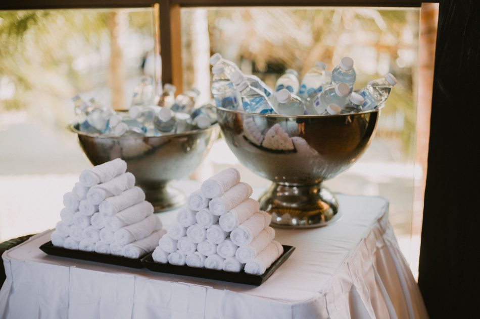 destination wedding ceremony setups