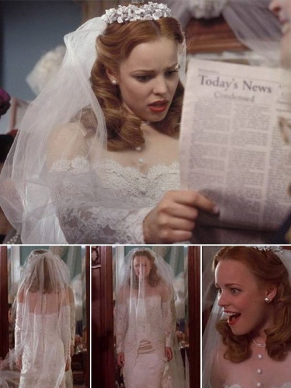 movie wedding dresses